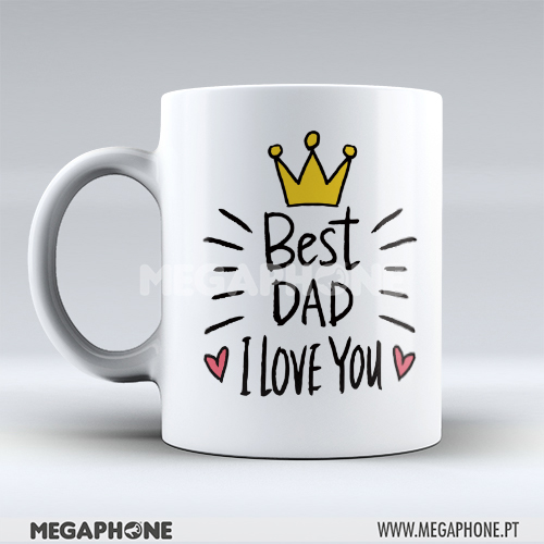 Caneca Best Dad Love You