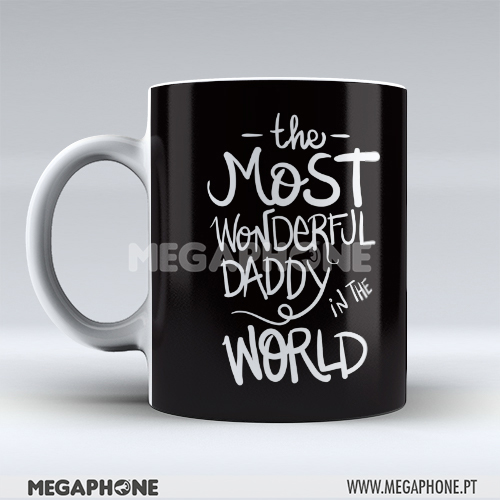 Caneca Most Wonderful Daddy
