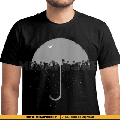 Umbrella City Falling Shirt