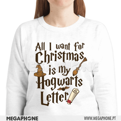 All I want is Hogwarts shirt