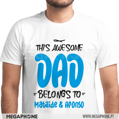 This awesome dad belongs to