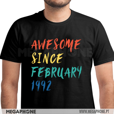 Awesome since shirt