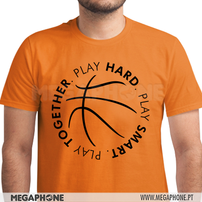 Play Hard Basket shirt