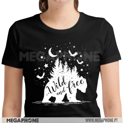 Bear Wild and Free shirt