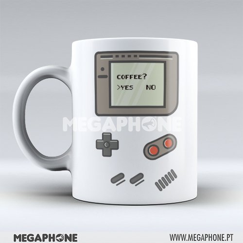 Caneca Gameboy Coffee