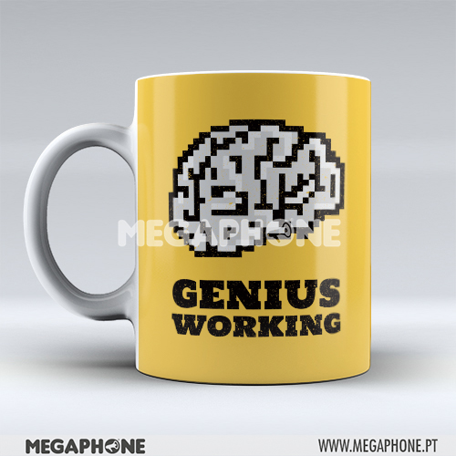 Caneca Genius Working