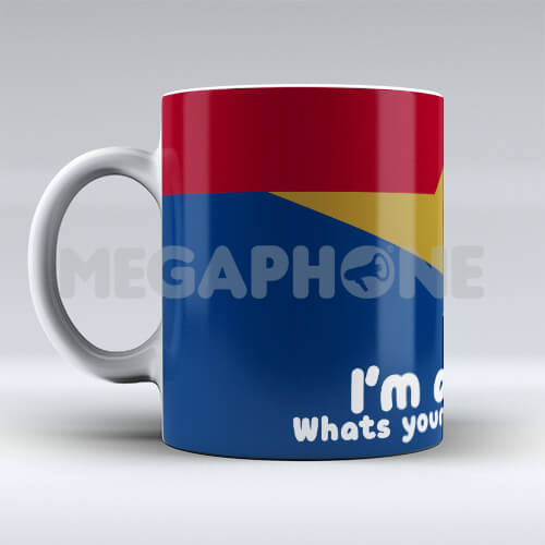 Caneca Wonderwoman mom superpower