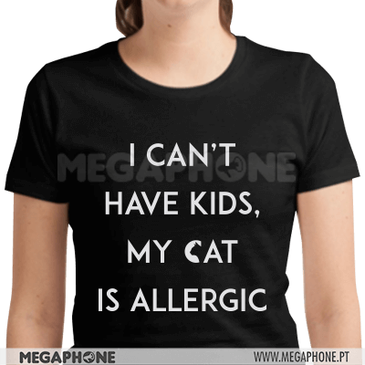 Can't have kids cat is allergic