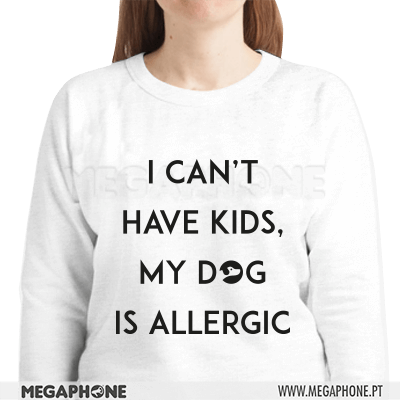 Can't have kids dog is allergic