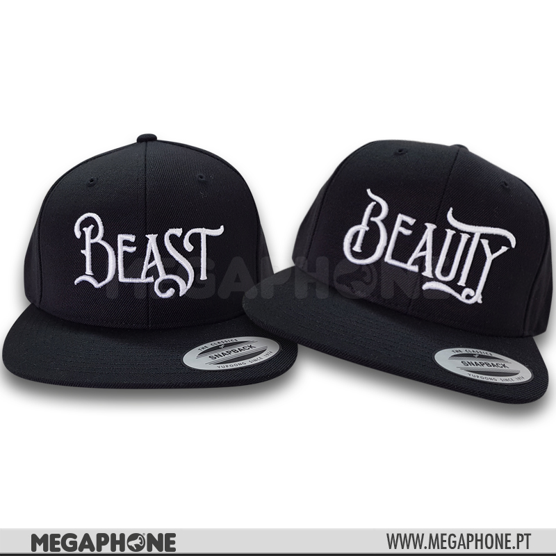 Conjunto Caps Beast Beauty
