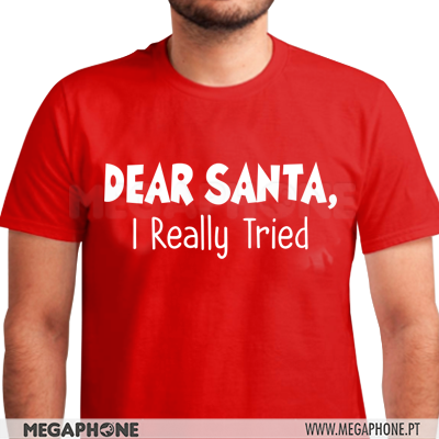 Dear Santa Tried shirt