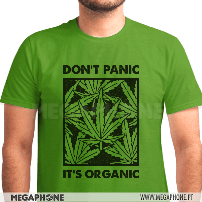 Don't panic it's organic shirt