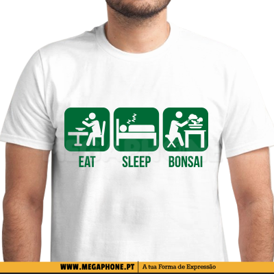 Eat Sleep Bonsai Shirt