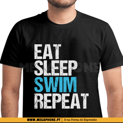 Eat Sleep Swim Repeat Shirt