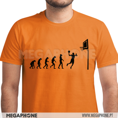 Evolution Basketball shirt