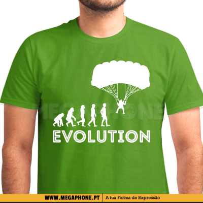 Evolution Paraquedista Shirt