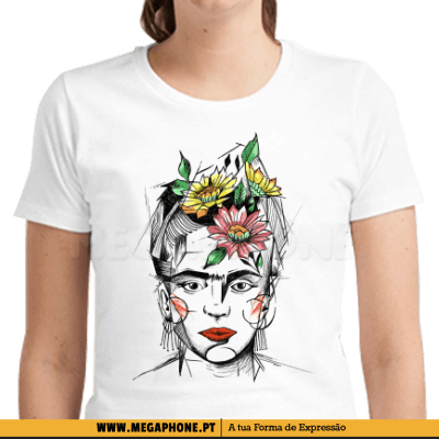 Frida Kahlo Flowers Shirt