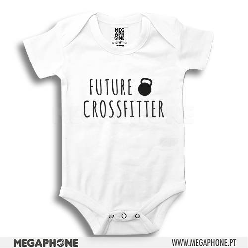Future Crossfitter babygrow