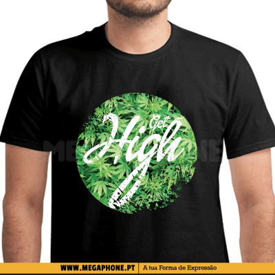 Get High Cannabis Shirt