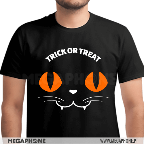 Cat Trick or Treat Shirt