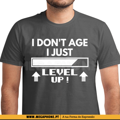 I don't age I Level Up