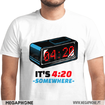 4:20 Somewhere Thug Life Shirt