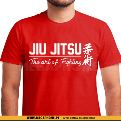 Jiu Jitsu Art Fighting Shirt