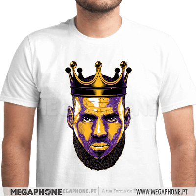King LeBron James