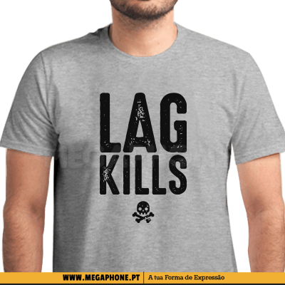 Lag Kills Skull Shirt