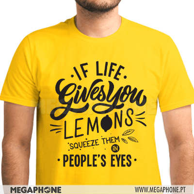 Life gives you lemons squeeze