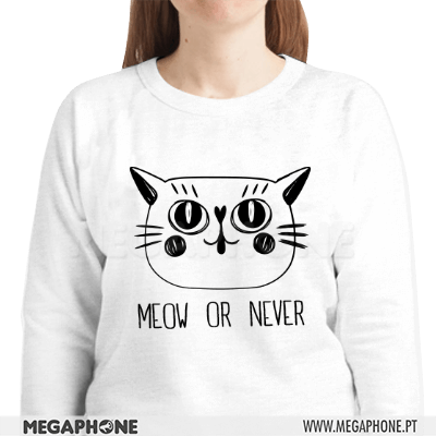 Meow or never shirt