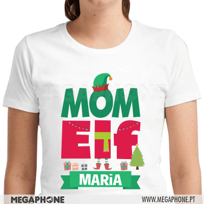 Mom Elf Shirt