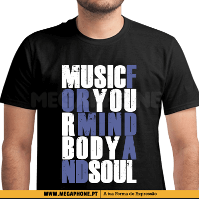 Music Mind Soul Shirt