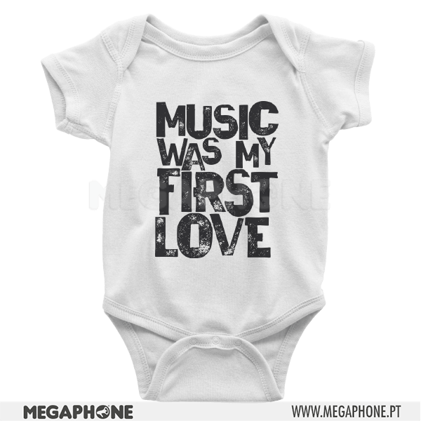 Music was my first love shirt
