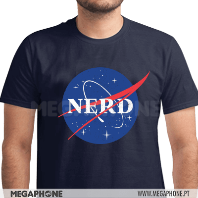 Nerd Nasa Space Shirt