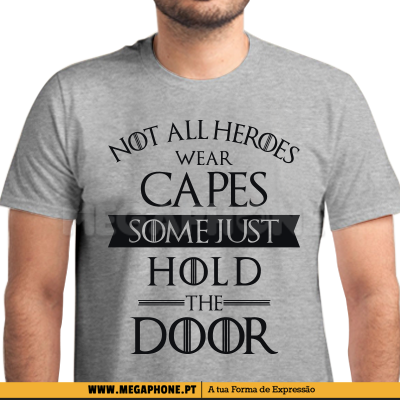 Heroes hold the door