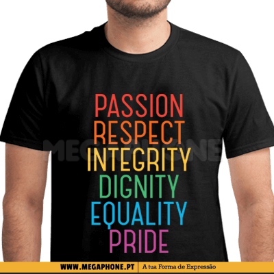 Passion Pride LGBT Shirt