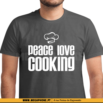 Peace Love Cooking Shirt