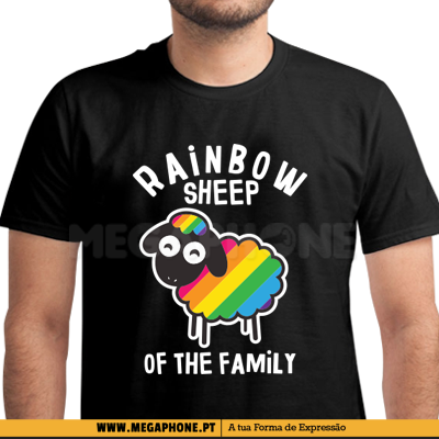 Rainbow Sheep Family Shirt