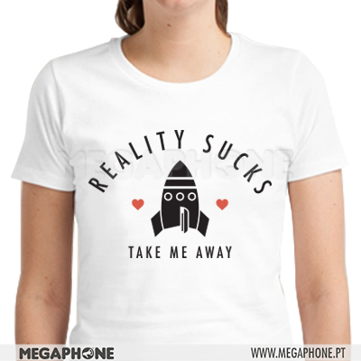 Reality Sucks shirt