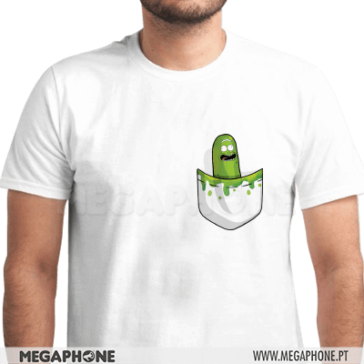 Pickle Bolso Rick Morty Shirt