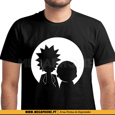 Round Rick and Morty Shirt