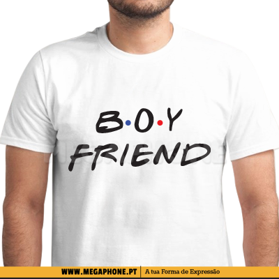 Boyfriend Friends Shirt