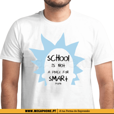 Rick School Smart People Shirt
