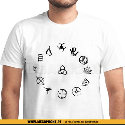 The 100 Symbols Clan Shirt