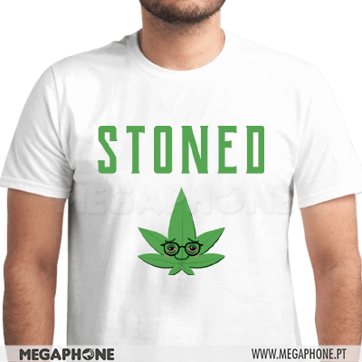 Stoned High Cannabis Shirt