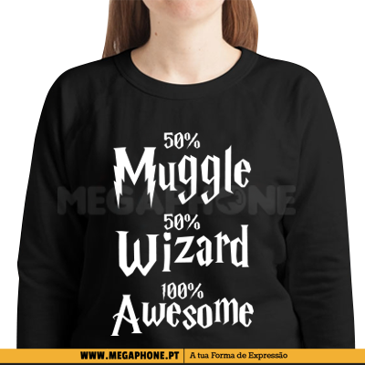 50% Muggle 50% Wizard Shirt