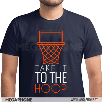 Take it to the hoop shirt