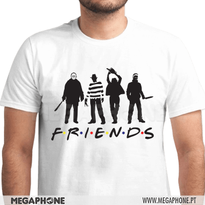 Friends Horror Shirt