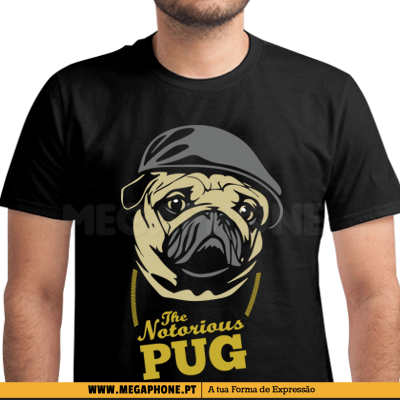The Notorious Pug Shirt